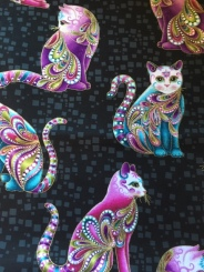 Gorgeous Cat fabric